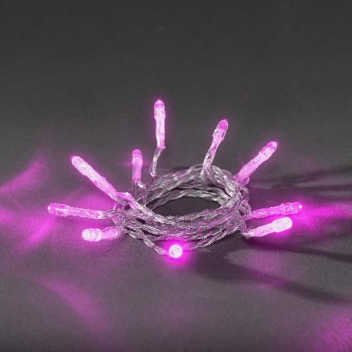 konstsmide led lichterkette 20 led pink batteriebetrieben. Black Bedroom Furniture Sets. Home Design Ideas
