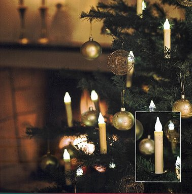 konstsmide kabellose christbaumkerzen 10er basis set. Black Bedroom Furniture Sets. Home Design Ideas
