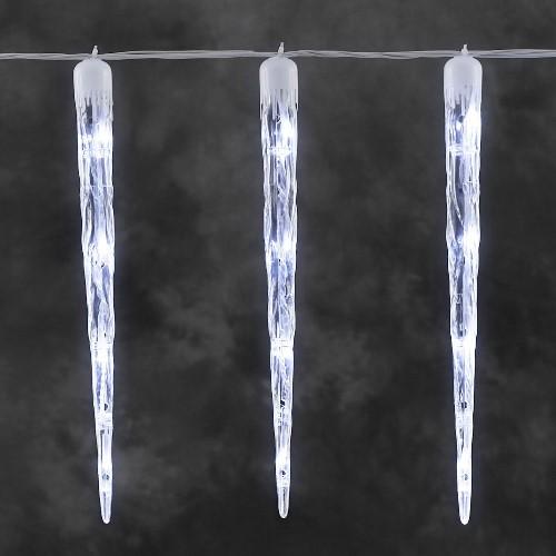 konstsmide led eiszapfen lichterkette 16 led eiszapfen wei multifunktion. Black Bedroom Furniture Sets. Home Design Ideas