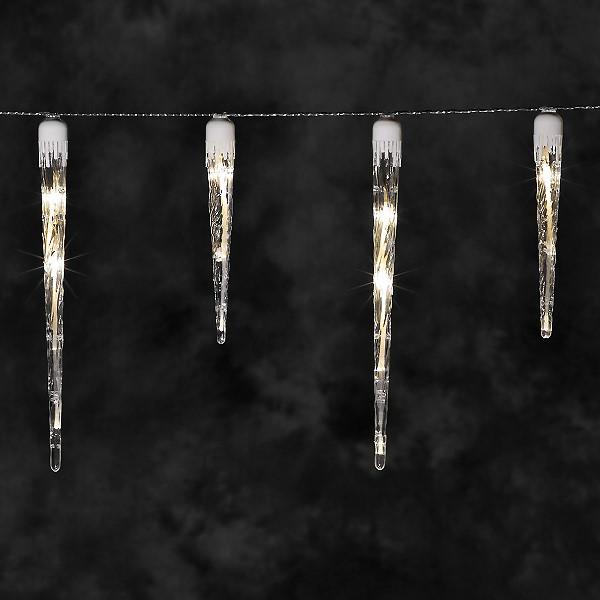 konstsmide led eiszapfen lichterkette 32 led eiszapfen warmwei. Black Bedroom Furniture Sets. Home Design Ideas