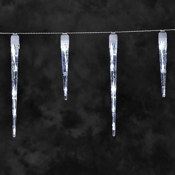 konstsmide led eiszapfen lichterkette 32 led eiszapfen kaltweiss. Black Bedroom Furniture Sets. Home Design Ideas