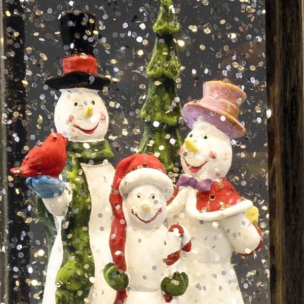 Konstsmide Weihnachtsbeleuchtung.Konstsmide Led Schneelaterne Schneemann Wassergefüllt 1 Warmweiße