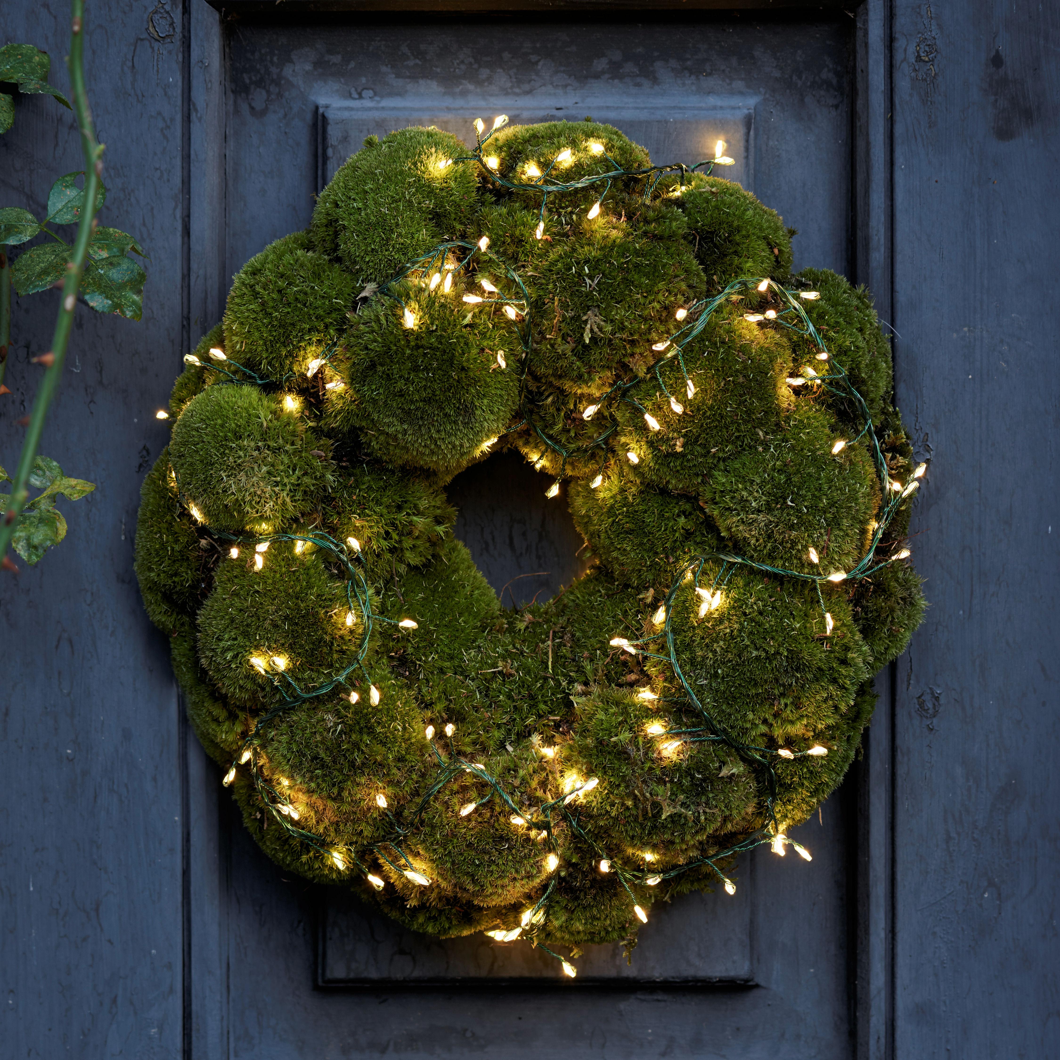 Weihnachtsbeleuchtung Tropfen.Sirius Tropfen Büschel Lichterkette Knirke Cluster 160 Warmweiße Led