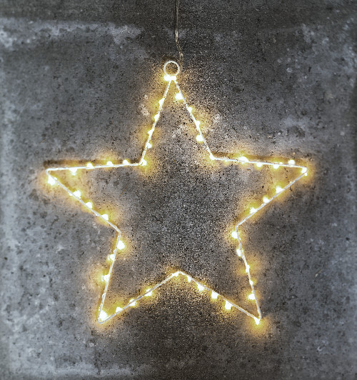 sirius led stern liva star small white 40 warmwei e led tropfen batteriebetrieben mit timer. Black Bedroom Furniture Sets. Home Design Ideas