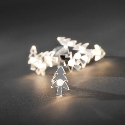 Konstsmide rentier lichterkette 10 verspiegelte led for Verspiegelte deko
