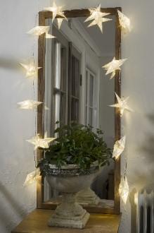 Papiersterne Weihnachtsbeleuchtung.Konstsmide Led Motiv Lichterkette 12 Led Papiersterne Warmweiß