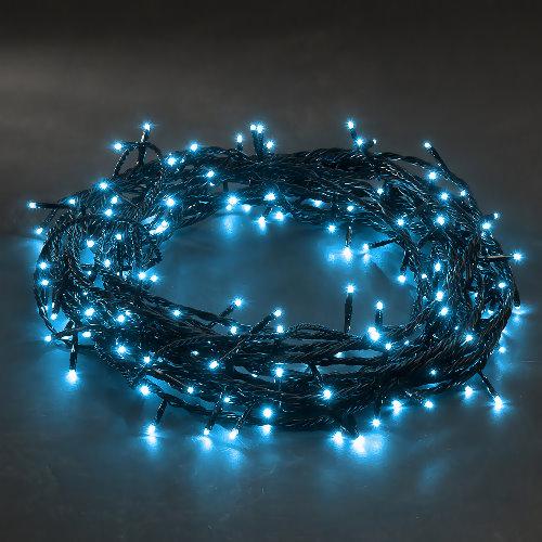 konstsmide micro led lichterkette 120 led hellblau 8 blinkfunktionen. Black Bedroom Furniture Sets. Home Design Ideas