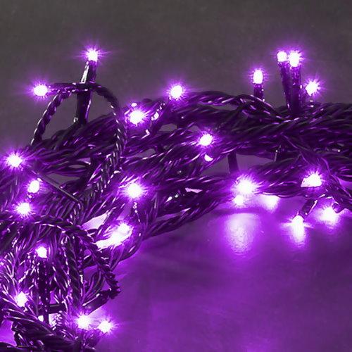 konstsmide micro led lichterkette 120 purpur led 8 blinkfunktionen. Black Bedroom Furniture Sets. Home Design Ideas