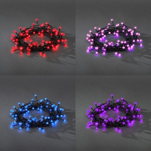 konstsmide led globelichterkette 40 farbwechsel led globe farbwechselfunktionen rot blau. Black Bedroom Furniture Sets. Home Design Ideas