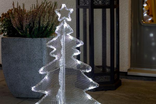 Tannenbaum Acryl.Konstsmide Led Acryl Weihnachtsmotiv Kleiner Tannenbaum
