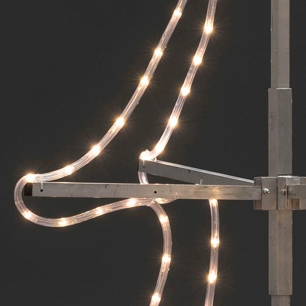 konstsmide led lichtschlauch tannenbaum 3d 400 cm 432 warmwei e led. Black Bedroom Furniture Sets. Home Design Ideas