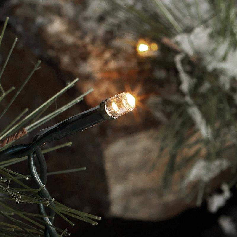 Sirius time line led lichterkette 80 led warmwei batteriebetrieb mit timer - Weihnachtsbeleuchtung mit batterie und timer ...