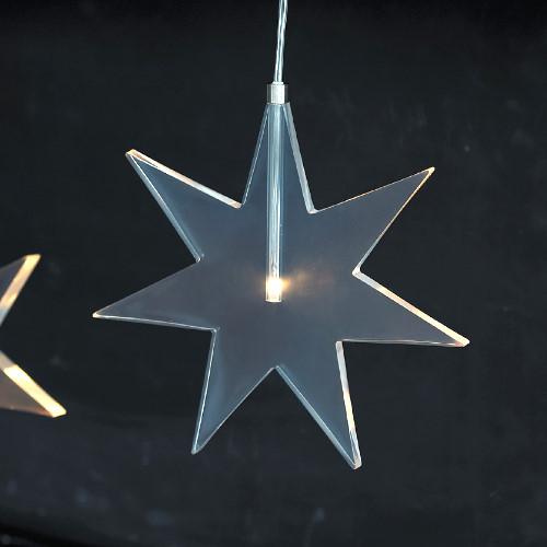 sirius led stern luisa star gefrostet 1 warmwei e led. Black Bedroom Furniture Sets. Home Design Ideas