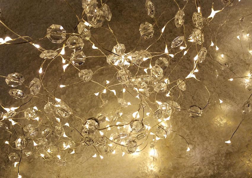 Ziemlich Diamant Lichter Auf Silberdraht Fotos - Der Schaltplan ...