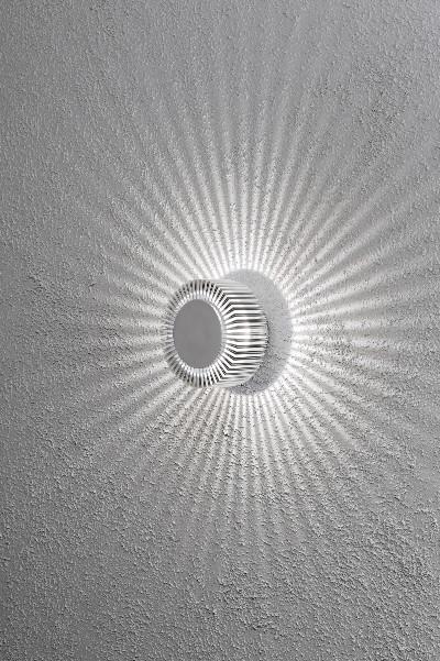 konstsmide monza effekt big led wandleuchte  watt