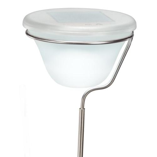 design solarsteckleuchte edelstahl glas. Black Bedroom Furniture Sets. Home Design Ideas