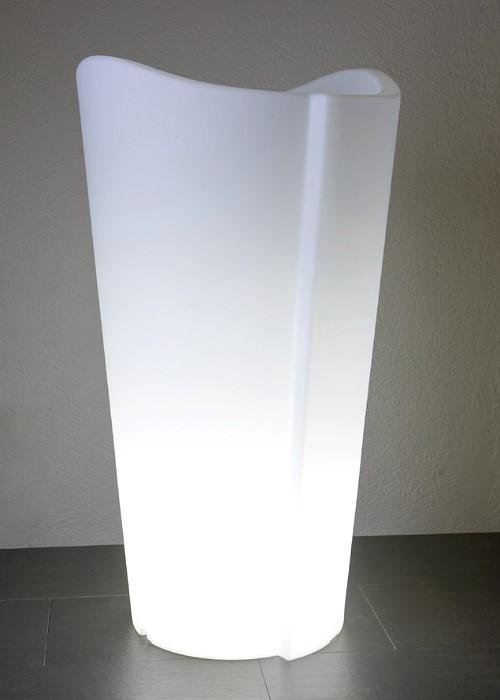EPSTEIN-DESIGN Beleuchteter Pflanzkübel Tulpe 100 cm Höhe