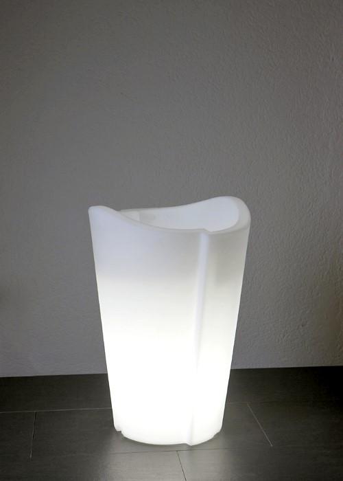 epstein design beleuchteter pflanzk bel tulpe 60 cm h he. Black Bedroom Furniture Sets. Home Design Ideas