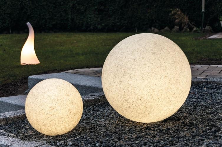 leuchtkugel mundan granit 30 cm. Black Bedroom Furniture Sets. Home Design Ideas