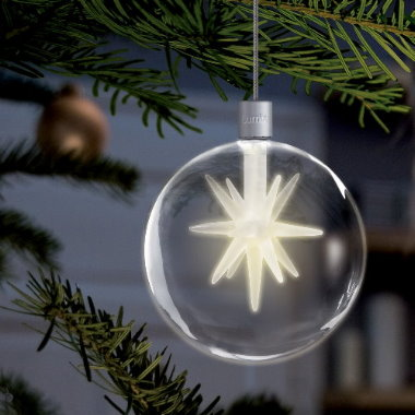 krinner lumix light balls kabellose christbaumkugeln 4er set. Black Bedroom Furniture Sets. Home Design Ideas