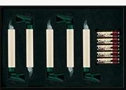 Krinner lumix classic kabellose christbaumkerzen 5er for Christbaumkerzen kabellos lumix