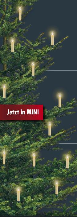 Krinner lumix classic mini kabellose christbaumkerzen 7er - Kabellose christbaumkerzen mini ...