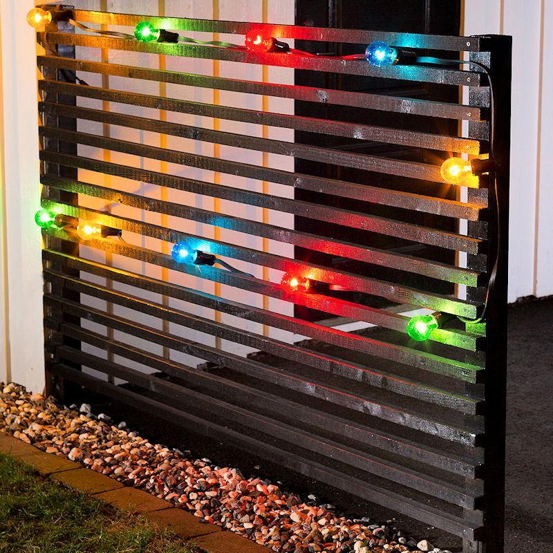 konstsmide led biergarten lichterkette basis set 10 m 10 bunte led gl hbirnen 80 led warmwei. Black Bedroom Furniture Sets. Home Design Ideas