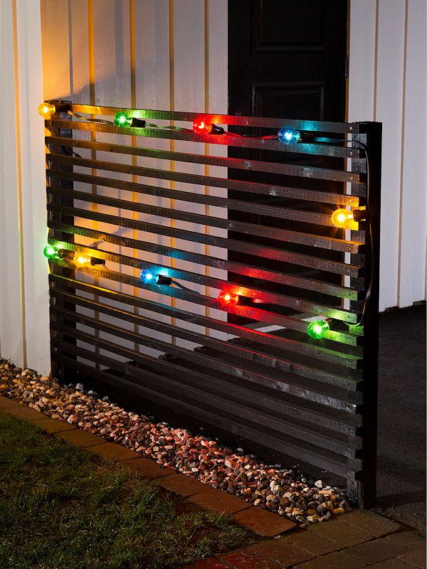 konstsmide led biergarten lichterkette erweiterung 10 m 10 bunte led gl hbirnen 80 led warmwei. Black Bedroom Furniture Sets. Home Design Ideas