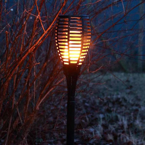 fdl led torch firelamp fackelleuchte flammeneffekt akkubetrieb 96 led 3 6 watt 160 lumen. Black Bedroom Furniture Sets. Home Design Ideas