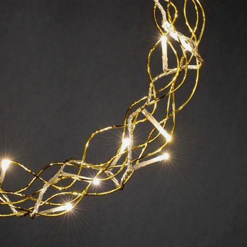 konstsmide weihnachts fensterdekoration metall kranz gold. Black Bedroom Furniture Sets. Home Design Ideas