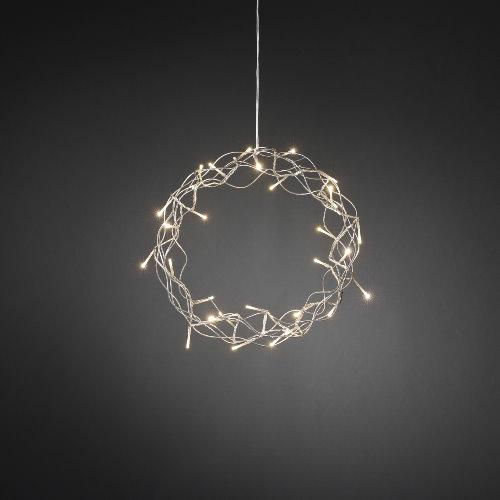 konstsmide weihnachts fensterdekoration metall kranz. Black Bedroom Furniture Sets. Home Design Ideas