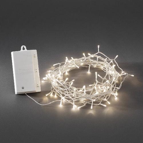 Konstsmide led lichterkette 240 led warmwei batteriebetrieb mit sensor und timer - Weihnachtsbeleuchtung mit batterie und timer ...