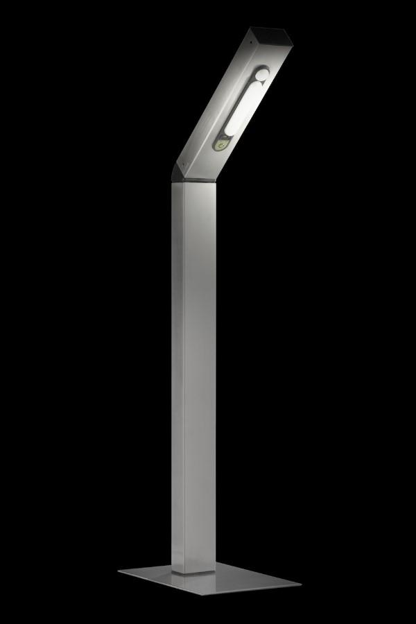 solar led standleuchte reader no 4 edelstahl 4 smd led. Black Bedroom Furniture Sets. Home Design Ideas