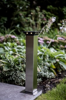 solar led standleuchte runway park xl 54 cm 8 led. Black Bedroom Furniture Sets. Home Design Ideas