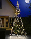 FAIRYBELL LED-Tannenbaum 400 cm, 640 warmweiße LED
