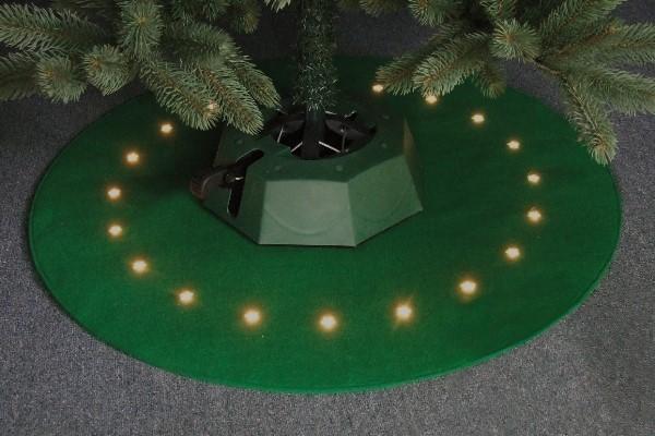 fhs weihnachtsbaum filzteppich beleuchtet modell kreis. Black Bedroom Furniture Sets. Home Design Ideas