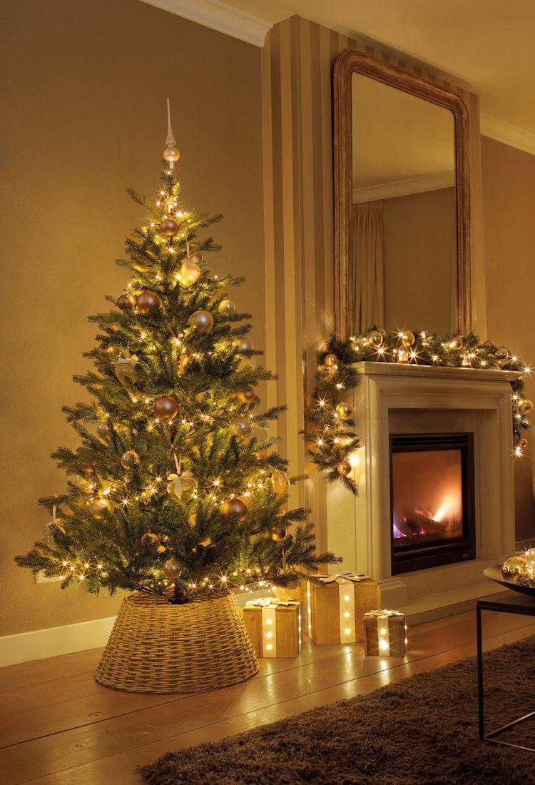 Weihnachtsbeleuchtung Led Ohne Kabel.Lumineo Led Lichterkette Compactlights 1000 Ricelight Led Klassisch