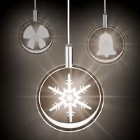 Lumix Weihnachtsbeleuchtung.Krinner Lumix Highlights Cosmic Blue Kabellose 3d Led Lichttaler 3er