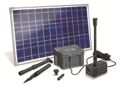 marino plus solar teichpumpenset 25 watt akkubox. Black Bedroom Furniture Sets. Home Design Ideas