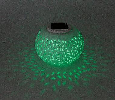 heitronic solar tischleuchte porcelain. Black Bedroom Furniture Sets. Home Design Ideas