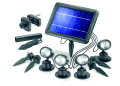 ESOTEC Quattro Power Solarspotlights 4er-Set