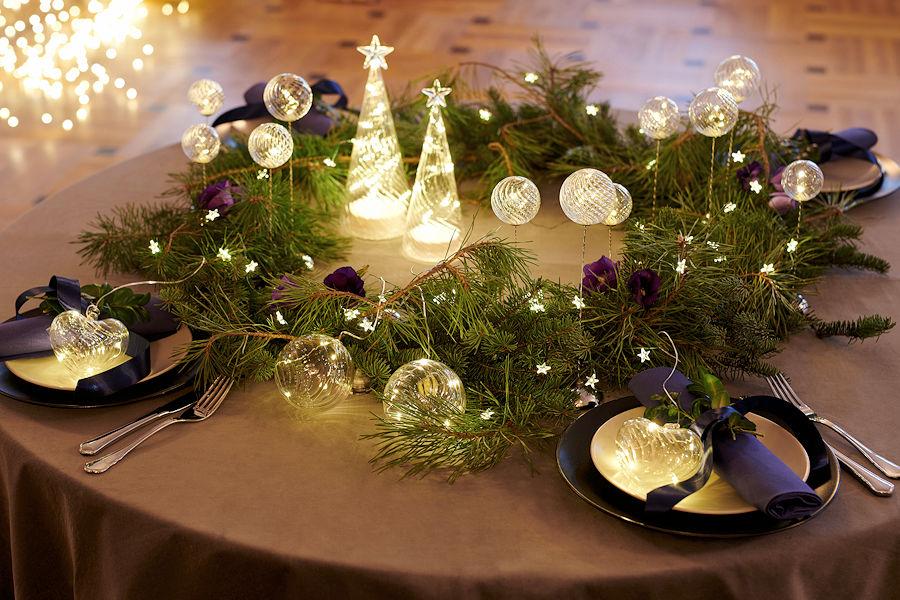 Weihnachtsbeleuchtung Tannenzapfen.Sirius Led Tannenzapfen Celina Cone Snowy 12 Cm 16 Warmweiße Led