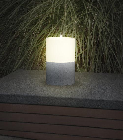 solarleuchte solar kerze maxi flacker led 24 cm. Black Bedroom Furniture Sets. Home Design Ideas
