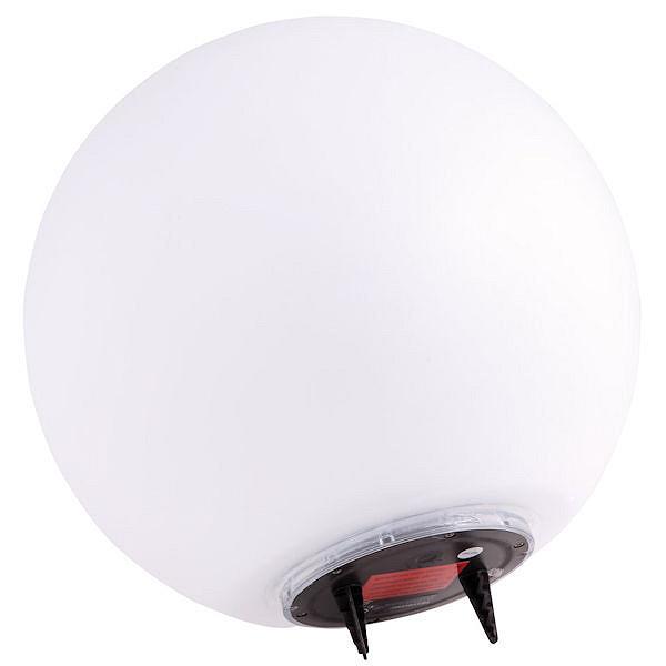 solar led kugel boule 30 cm neutralwei. Black Bedroom Furniture Sets. Home Design Ideas