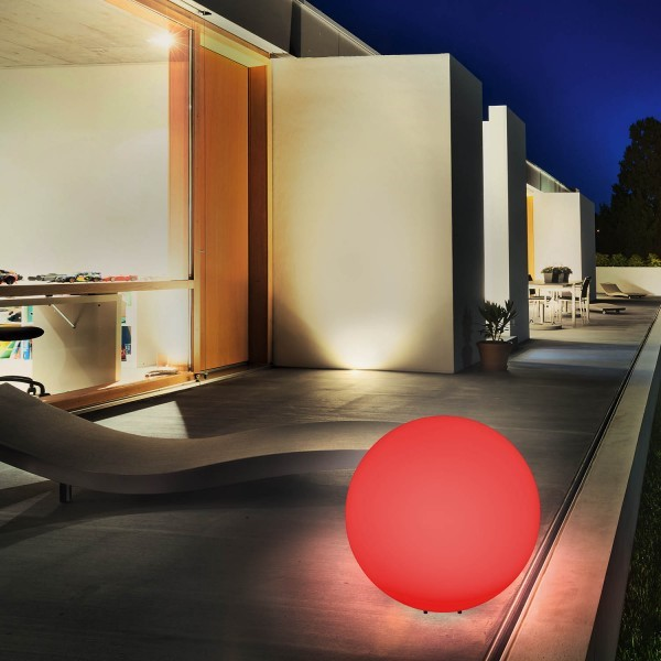 esotec solar kugelleuchte mega ball 30 cm 7 farbiger lichtwechsel oder dauerlicht. Black Bedroom Furniture Sets. Home Design Ideas