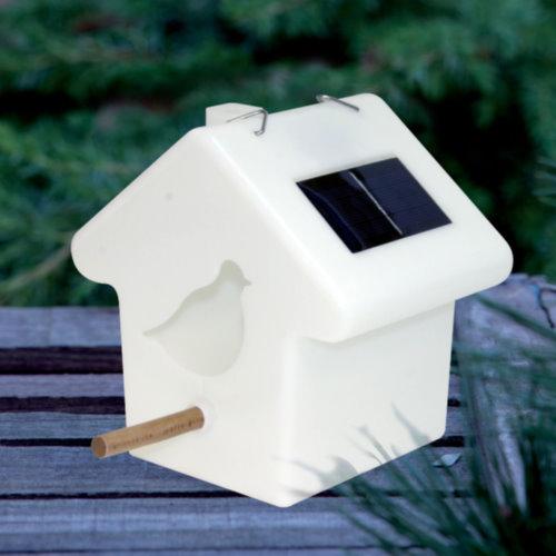 solarleuchte vogelhaus led. Black Bedroom Furniture Sets. Home Design Ideas