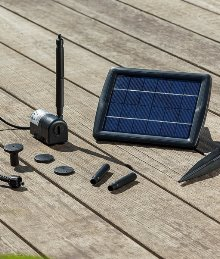 solar teichpumpe watersplash 2 watt. Black Bedroom Furniture Sets. Home Design Ideas