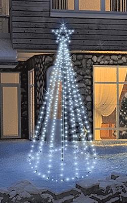 fdl led tannenbaum tree kit timer 200 cm 100 kaltwei e led. Black Bedroom Furniture Sets. Home Design Ideas
