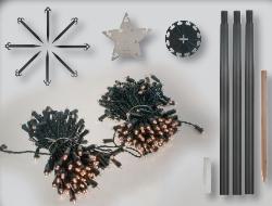 fdl led tannenbaum tree kit 300 cm 300 warmwei e led. Black Bedroom Furniture Sets. Home Design Ideas